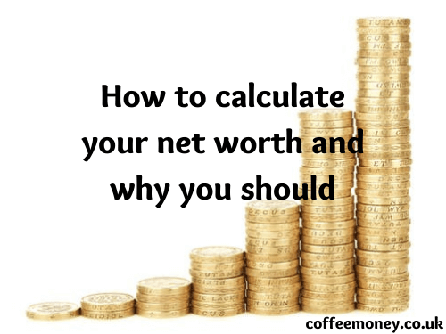 how to calculate your net worth and why you should written over image of money