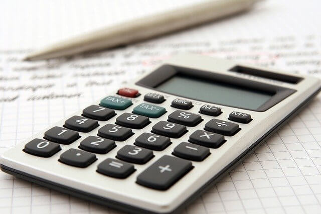 Calculator for to be used to calculate the increase in your net worth